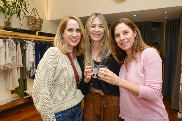 Virna Wulkan, Andrea Setton e Flavia Mat