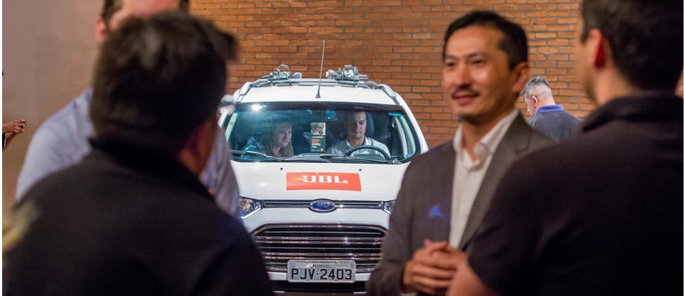 Lançamento JBL - Salão do Automóvel
