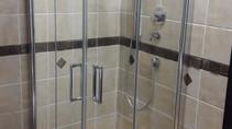 Hüppe Duschkabine mit Schwingfalttür