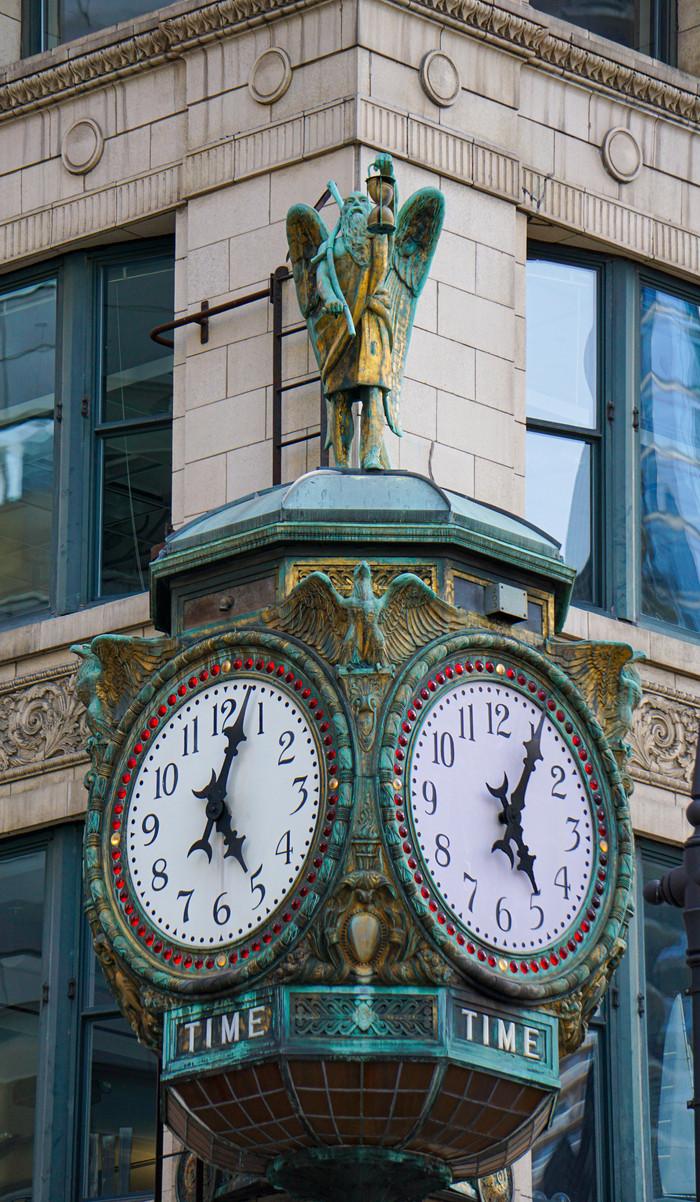 Час, що не минає: історії годинників   Чикаго.