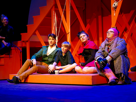 """Larry A. Ryle High School's """"James and the Giant Peach"""""""