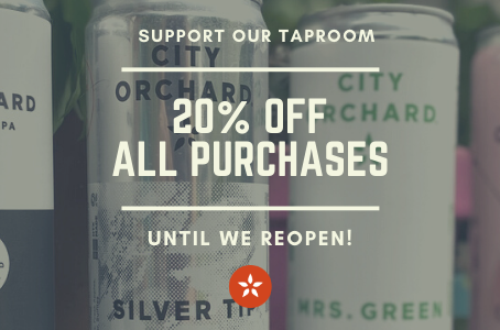 Support our Taproom & Save!