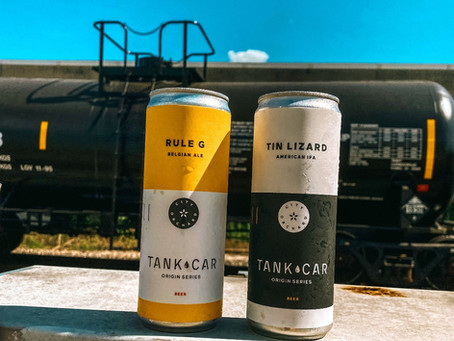 Introducing our Tank Car beer series!