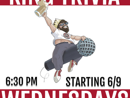 Wednesday Trivia Night comes to City Orchard! 🧠