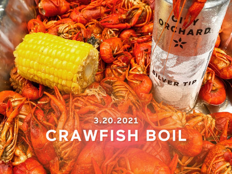 First Day of Spring Celebratory Crawfish Boil!