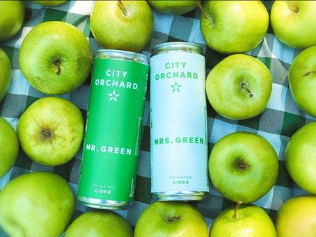 The only Green we're drinking this March, Mr. & Mrs. Green are back! 🍏