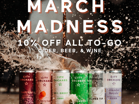 March Madness = Cider Savings