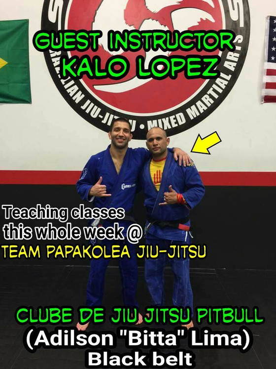 SpecialGuest Kalo Lopez teaching 10/31-11/3