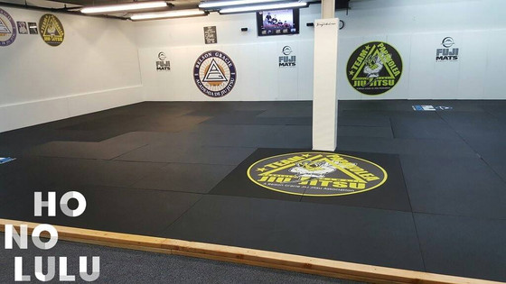 Frame around mats installed!