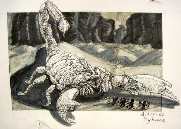 Scorpion Wants a Hug
