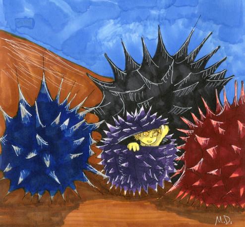 Toby the Sea Urchin v1