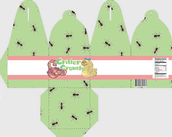 Critter Crunch Package Art