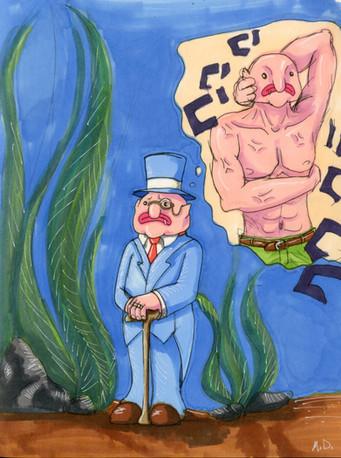 Bruce The Blobfish v1
