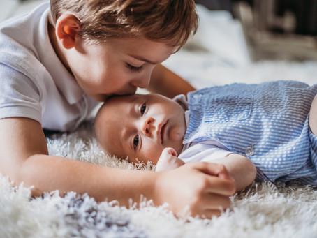 cozy newborn lifestyle session, hunterdon county, nj