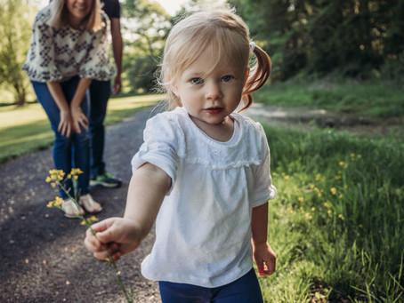 spring family session, bayne park, morristown, nj
