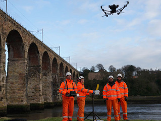 Network Rail use Drones to inspect large railway structures
