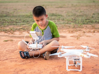 Should Children be banned from flying large drones?