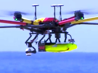 The Drones helping keep swimmers safe