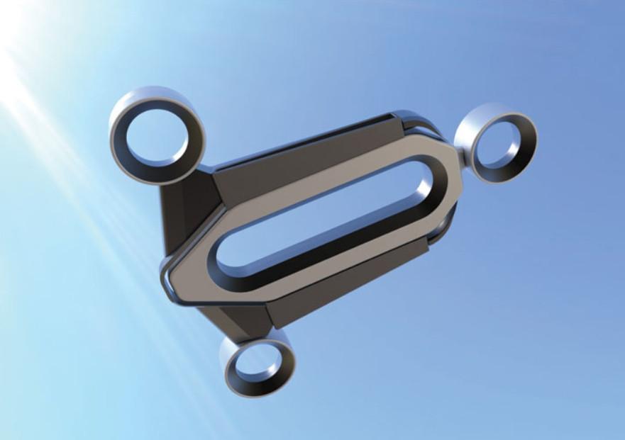 Image of bladeless drone design by Edgar Herrera