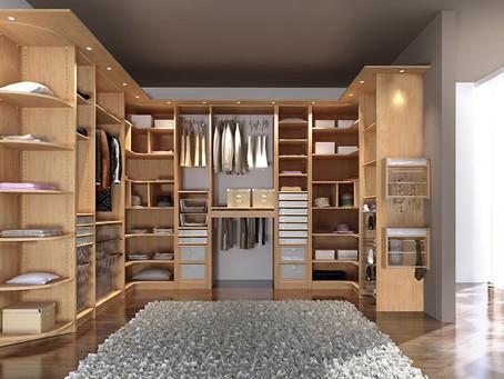 ¿Como hacer un vestidor en el dormitorio?