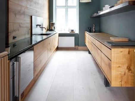 Cocinas lineales para optimizar el espacio