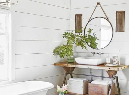 ¿Baños sin azulejos?Alternativas al alicatado