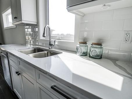 Ideas para reformar una cocina grande con encimeras