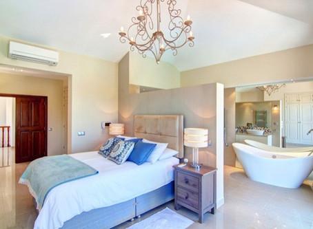 Las claves para conseguir un baño integrado en el dormitorio