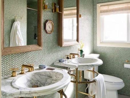 Gresite como revestimiento para baños