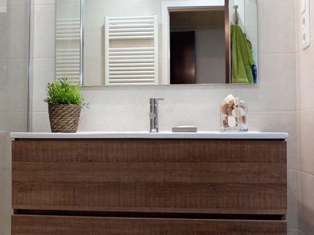 5 soluciones para la reforma de un baño pequeño