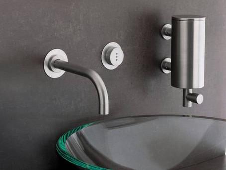 Griferia de lavabo empotrada : ventajas e inconvenientes