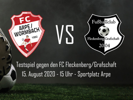 Testspiel gegen den FC Fleckenberg/Grafschaft