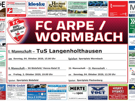 Spiel gegen Langenholthausen