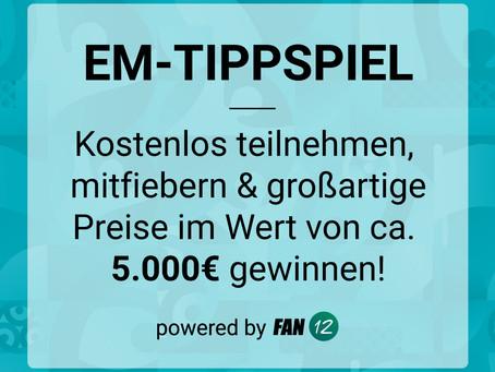EM-Tippspiel mit vielen tollen Preisen