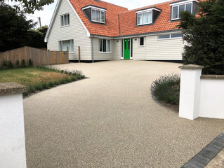 Enhance your home with a resin driveway