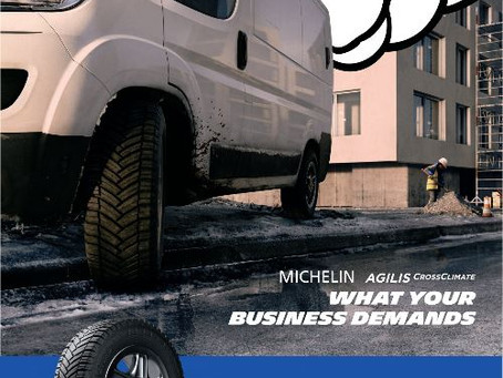 Michelin launches Agilis CrossClimate van and light truck tyre for safe driving in all weather condi