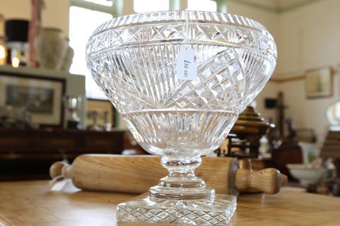 Large Crystal Bowl - £32