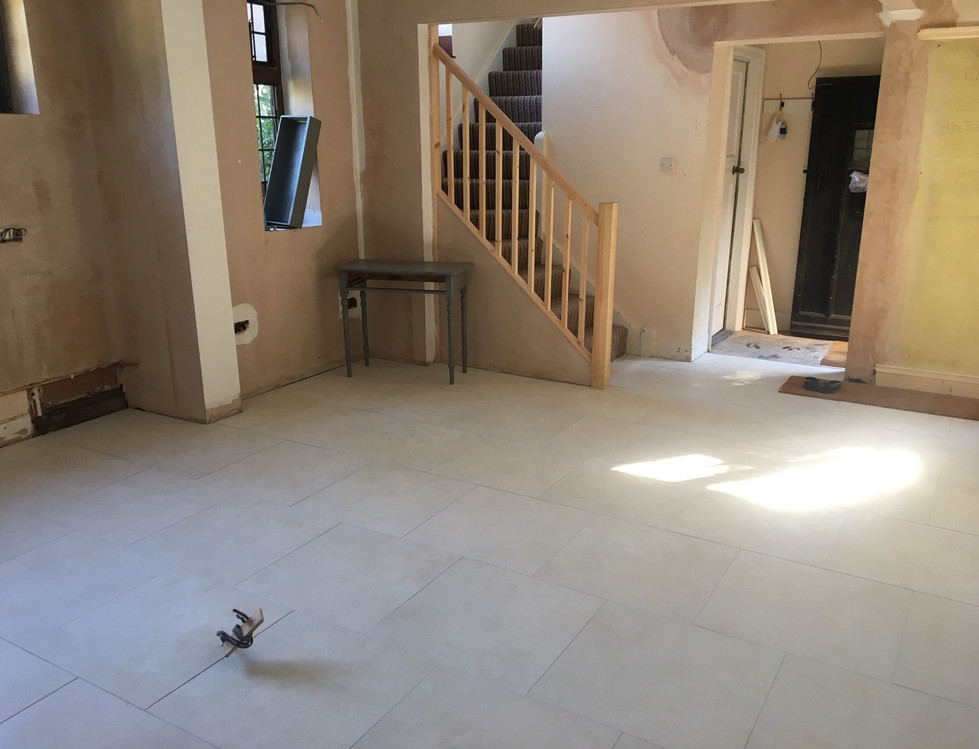 Tiled Room