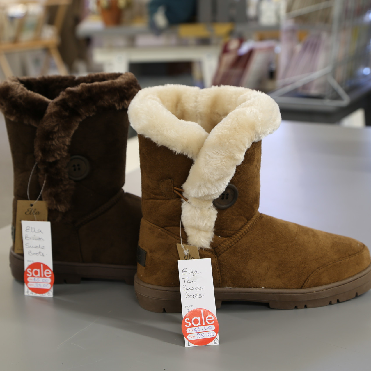 Suede Boots from £45 to £35