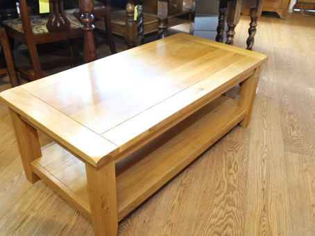 A really solid coffee table - SOLD