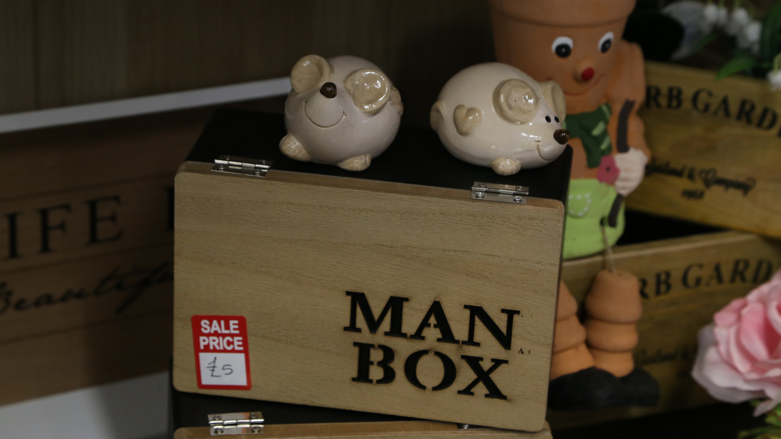 Sale man box
