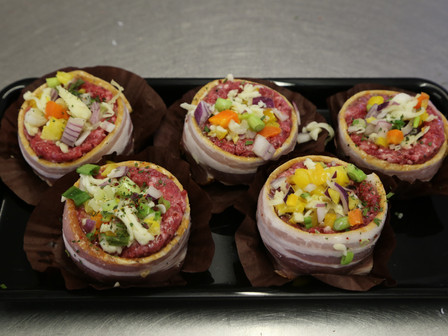 Mushroom truffles join the prepared dishes available at your local butchers