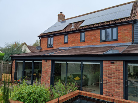 Another conservatory completed