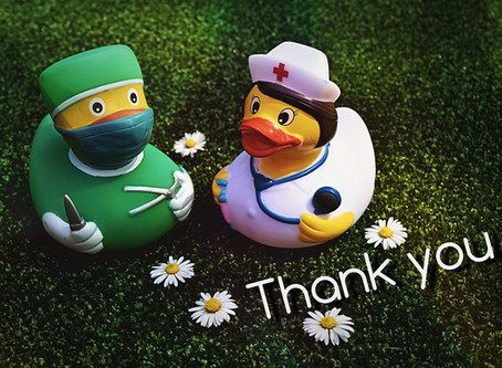 Our own little thank you to the NHS