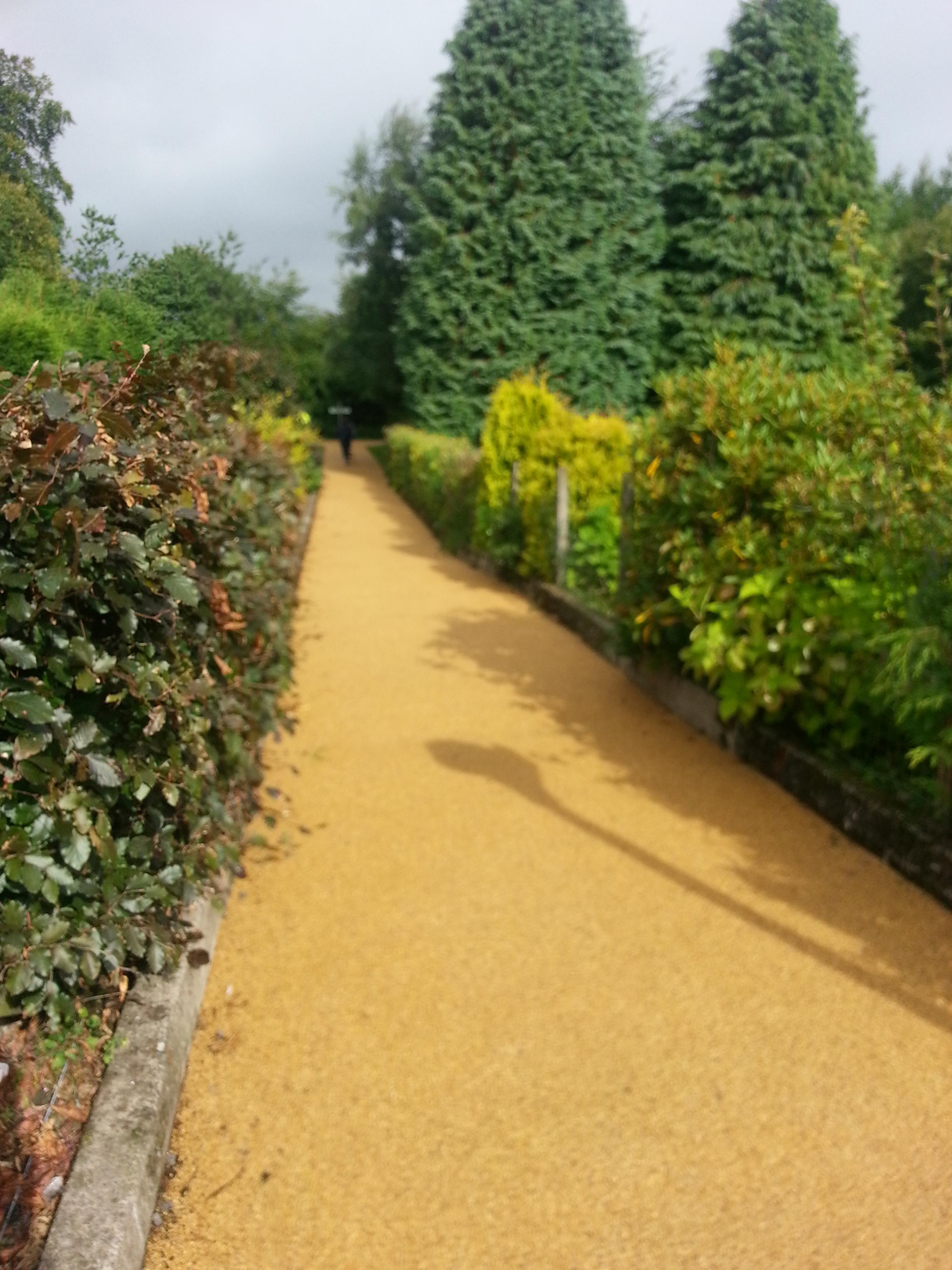 Resin Garden path