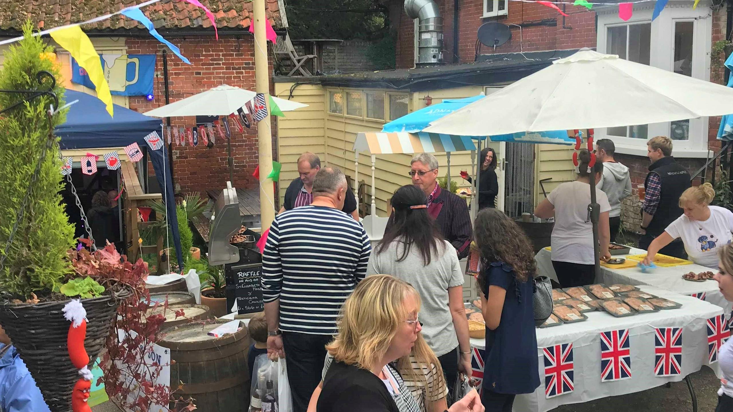 Popular at the Framlingham Sausage Festi