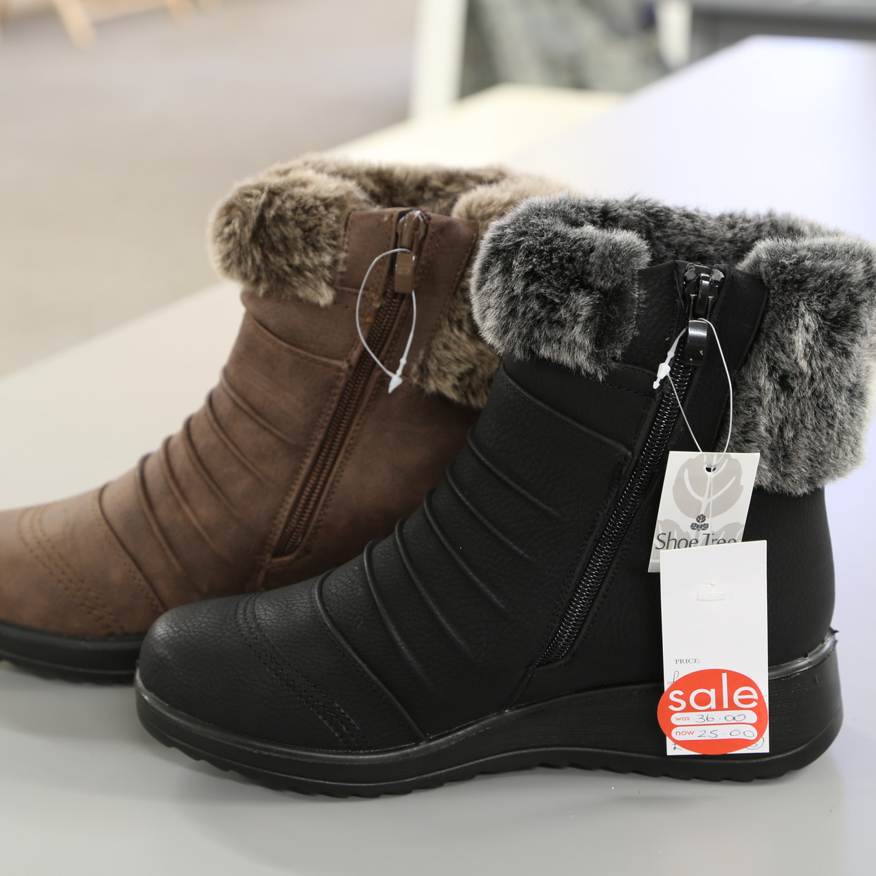 Winter boots from £36 to £25