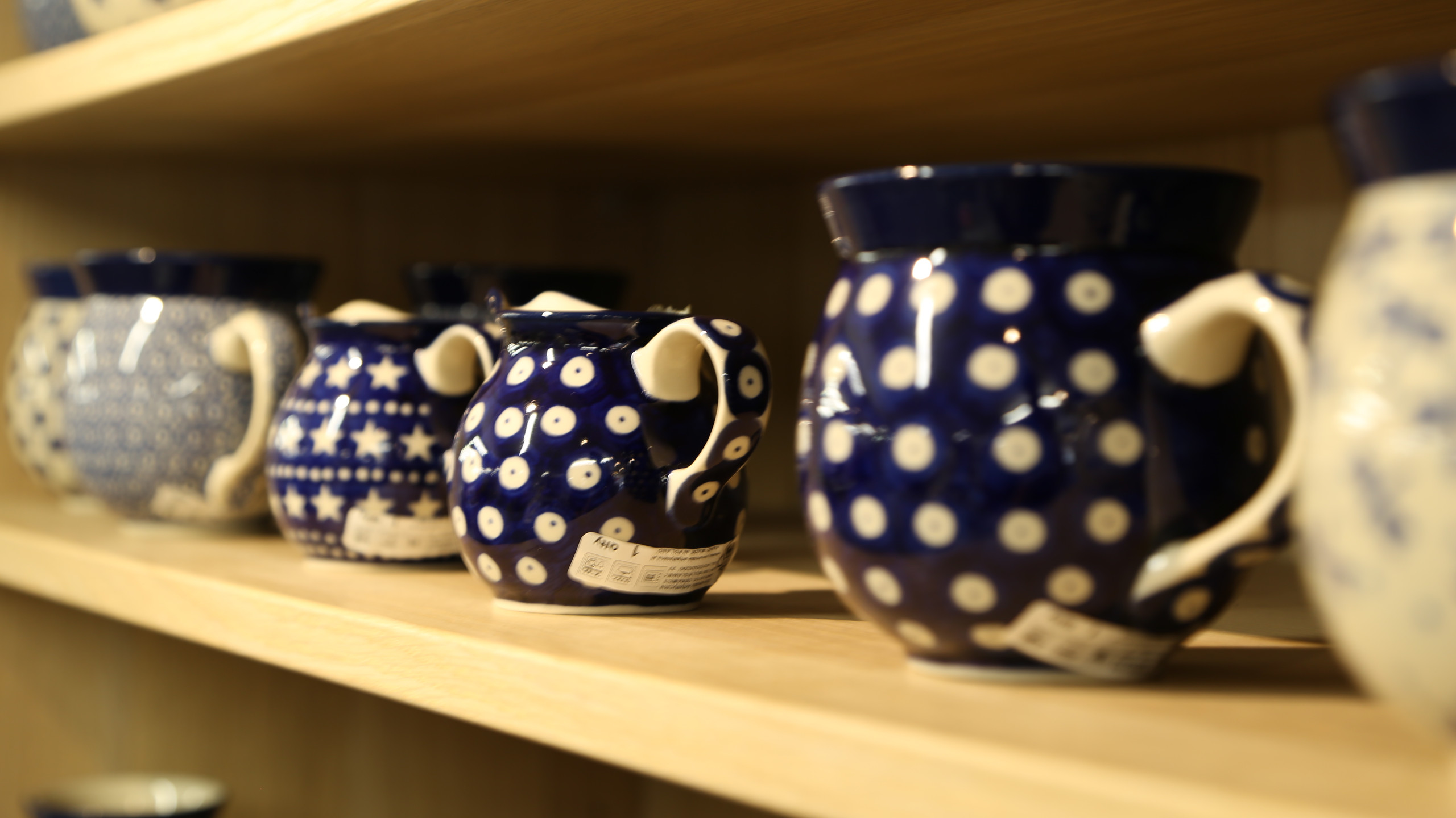 Polish Pottery collection of drugs
