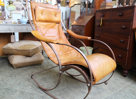 RW Winfield Campaign Rocking Chair - £1,200