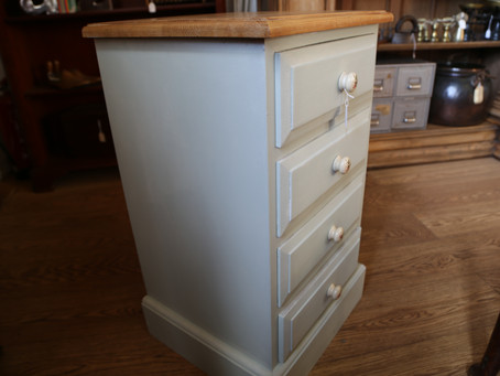 Painted Pine Chest of Drawers - SOLD